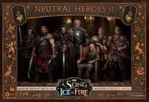 A Song of Ice and Fire: Tabletop Miniatures Game - Neutral Heroes #2
