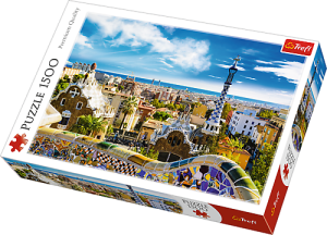 Puzzle 1500 Park Guell Barcelona