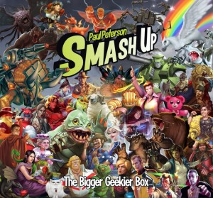 Smash Up: The Bigger Geekier Box