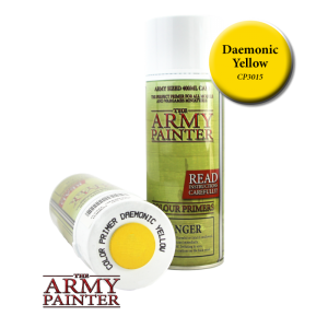 Army Painter Spray Primer - Daemonic Yellow