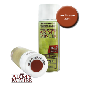Army Painter Spray Primer - Fur Brown