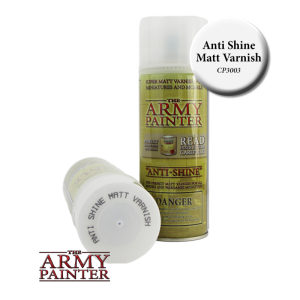 Army Painter Spray Primer - Anti-shine Matt Varnish