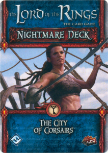 The Lord of the Rings: The Card Game - Nightmare Deck: The City of Corsairs