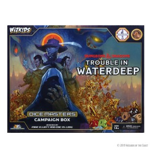 D&D Dice Masters: Trouble in Waterdeep - Campaign Box