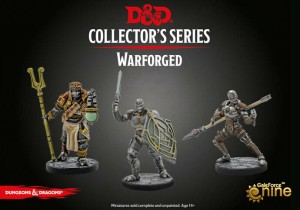 D&D RPG: Collector's Series Eberron Miniatures - Warforged