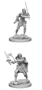 D&D RPG: Nolzur's Marvelous Miniatures - Human Female Barbarian (Dungeons and Dragons RPG)