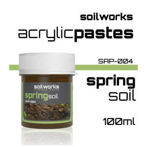 Scale75 Soil works: Acrylic Paste - Spring Soil