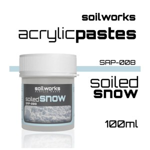Scale75 Soil works: Acrylic Paste - Soiled Snow