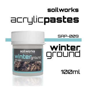 Scale75 Soil works: Acrylic Paste - Winter Ground