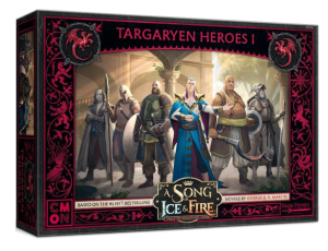 A Song of Ice and Fire: Tabletop Miniatures Game - Targaryen Heroes #1
