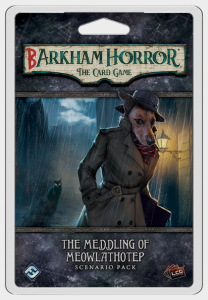 Arkham Horror: The Card Game - Barkham Horror: The Meddling of Meowlathotep