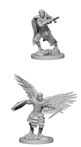 D&D RPG: Nolzur's Marvelous Miniatures - Aasimar Male Fighter (Dungeons and Dragons RPG)