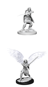 D&D RPG: Nolzur's Marvelous Miniatures - Aasimar Female Fighter (Dungeons and Dragons RPG)
