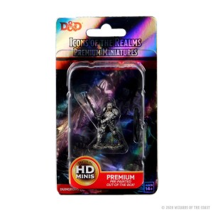 D&D RPG: Icons of the Realms Premium Miniatures - Human Fighter Male (Dungeons and Dragons RPG)