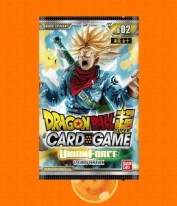 Dragon Ball SCG B02 Union Force Booster Pack