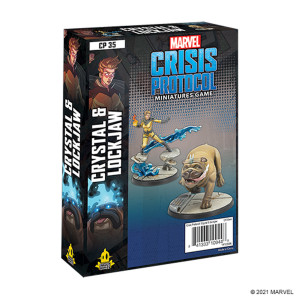 Marvel: Crisis Protocol -  Crystal and Lockjaw