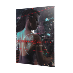 Altered Carbon RPG- Core Rulebook Standard Edition