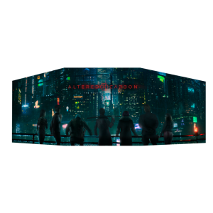 Altered Carbon RPG - Game Master Screen