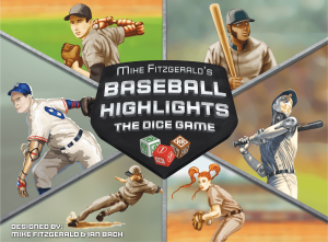 Baseball Highlight Dice Game