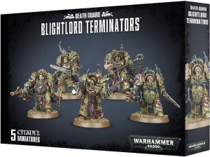 Warhammer 40,000: Death Guard Blightlord Terminators
