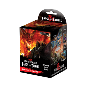 D&D RPG: Icons of the Realms - Fangs & Talons Booster