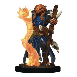 D&D RPG: Icons of the Realms - Premium Painted Miniatures - Dragonborn Sorcerer Female (Dungeons and Dragons RPG)