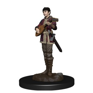 D&D RPG: Icons of the Realms - Premium Painted Miniatures - Half-Elf Bard Female (Dungeons and Dragons RPG)