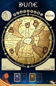 Mata do gry Dune + znaczniki 3d