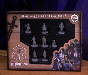 Critical Role: Mighty Nein - Miniatures