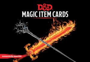D&D RPG: Magic Item Cards