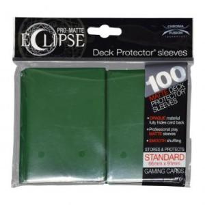 Koszulki na karty UltraPro Pro-Matte Eclipse Forest Green Standard 66x91 mm 100 sztuk (leśny zielony)