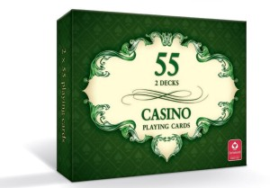 Karty do gry Casino Playing Cards 55 kart - 2 talie