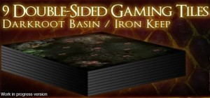Dark Souls: 9 Double Sided Tiles Add-on