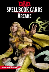 D&D RPG: Arcane Spell Deck (Revised)