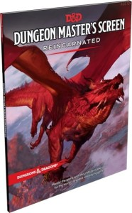 D&D RPG: Dungeon Master's Screen Reincarnated (Dungeons and Dragons RPG)