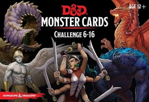 D&D RPG: Monster Cards - Challenge 6-16