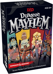 D&D: Dungeon Mayhem Card Game