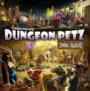 Dungeon Petz (Pupile Podziemi): Dark Alleys  + promo Bob and Blob