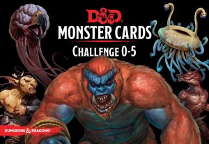 D&D RPG: Monster Cards - Challenge 0-5