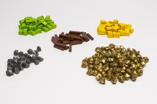 Tzolkin - zestaw elementów