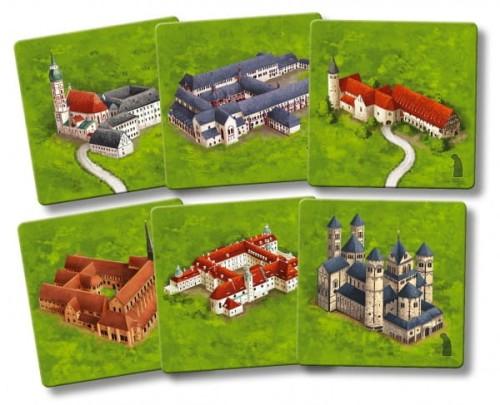 Carcassonne: Niemieckie Klasztory / Die Klöster in Deutschland (druga edycja)