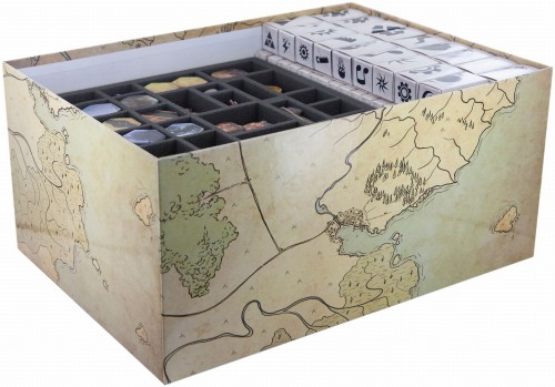 Organizer z pianki do Gloomhaven