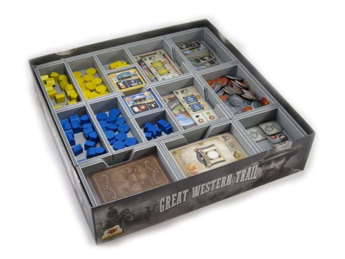 Folded Space: organizer do gry Great Western Trail (v2)