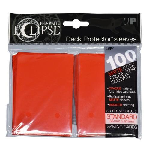 Koszulki na karty Ultra-Pro Pro-Matte Eclipse Apple Red 66x91 mm 100 sztuk (czerwone)