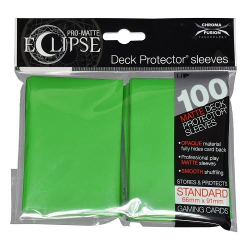 Koszulki na karty Ultra-Pro Pro-Matte Eclipse Lime Green 66x91 mm 100 sztuk (jasnozielone)