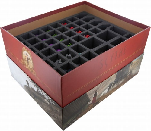 Organizer z pianki do Scythe Legendary Box