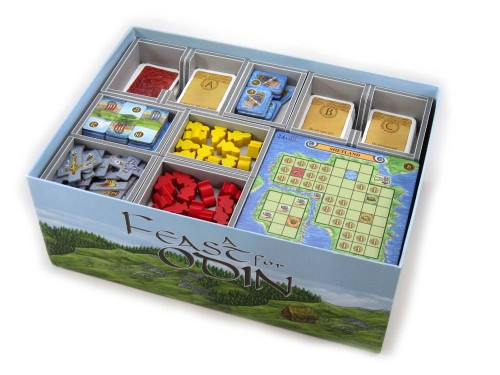 Folded Space: organizer do gry Uczta dla Odyna (A Feast for Odin)
