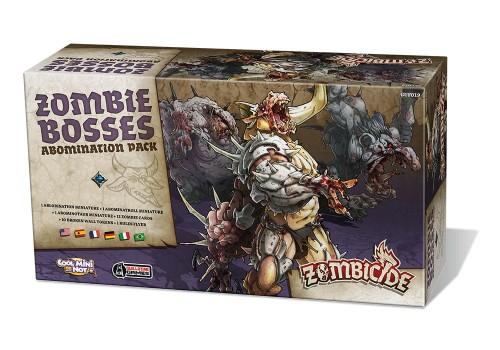 Zombicide: Czarna plaga - Zombie Bosses Zestaw Abominacji