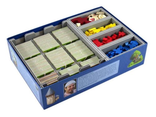 Folded Space: organizer do gry Carcassonne