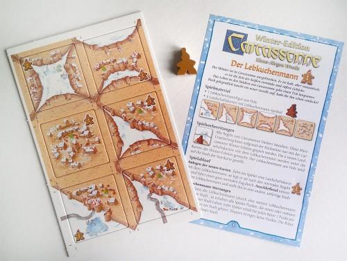 Carcassonne - edycja zimowa - mini dodatek Piernikowy Ludek